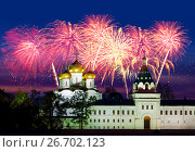 Купить «Russia, Kostroma city, Ipatievsky monastery», фото № 26702123, снято 24 сентября 2010 г. (c) ElenArt / Фотобанк Лори