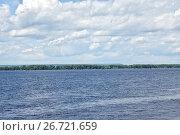 Купить «Река Волга. Самара», фото № 26721659, снято 3 июля 2017 г. (c) Илюхина Наталья / Фотобанк Лори