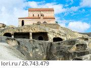 Купить «The 10th century Christian Prince's Basilica overlooking Uplistsikhe, the Lord's fortress, Gori, Shida Kartli district, Georgia, Central Asia, Asia», фото № 26743479, снято 17 сентября 2016 г. (c) age Fotostock / Фотобанк Лори