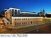 Москва, многофункциональный комплекс Balchug Residence на Раушской набережной, фото № 26762643, снято 5 августа 2017 г. (c) Dmitry29 / Фотобанк Лори