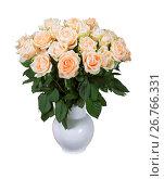 Розы на день рождения, фото № 26766331, снято 17 августа 2017 г. (c) Наталья Волкова / Фотобанк Лори