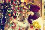 Girl shopping at festive fair, фото № 26773779, снято 22 августа 2017 г. (c) Яков Филимонов / Фотобанк Лори