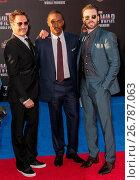 Купить «Celebriteis attend the World Premiere of 'Captain America: Civil War' at Dolby Theatre in Hollywood. Featuring: Robert Downey Jr., Anthony Mackie, Chris...», фото № 26787063, снято 12 апреля 2016 г. (c) age Fotostock / Фотобанк Лори