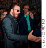 Купить «World Premiere of 'Captain America: Civil War' at Dolby Theatre in Hollywood - Arrivals Featuring: Chris Evans Where: Los Angeles, California, United States When: 12 Apr 2016 Credit: Brian To/WENN.com», фото № 26787163, снято 12 апреля 2016 г. (c) age Fotostock / Фотобанк Лори