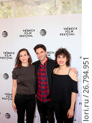 Купить «2016 Tribeca Film Festival - 'Time Traveling Bong' - Premiere at the SVA Theater Featuring: Lucia Aniello, Paul W. Downs, Ilana Glazer Where: New York...», фото № 26794951, снято 16 апреля 2016 г. (c) age Fotostock / Фотобанк Лори