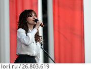 Купить «Российская певица Согдиана», фото № 26803619, снято 9 мая 2016 г. (c) Free Wind / Фотобанк Лори
