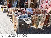 Купить «Узбекские сувениры, Бухара», фото № 26811063, снято 19 октября 2016 г. (c) Юлия Бабкина / Фотобанк Лори