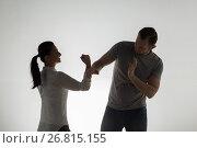 Купить «angry couple having fight», фото № 26815155, снято 20 января 2017 г. (c) Syda Productions / Фотобанк Лори