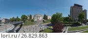 Центр Киева (2017 год). Редакционное фото, фотограф Онищенко Виктор / Фотобанк Лори