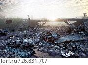Купить «Apocalyptic landscape», фото № 26831707, снято 18 июля 2018 г. (c) Виктор Застольский / Фотобанк Лори