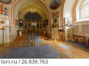 Домовая церковь Юсуповского дворца на Мойке в Санкт-Петербурге, фото № 26839763, снято 30 августа 2017 г. (c) Stockphoto / Фотобанк Лори