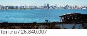 Купить «Contrast views of Montevideo port», фото № 26840007, снято 20 марта 2019 г. (c) Яков Филимонов / Фотобанк Лори