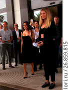 Купить «Celebrities seen outside Martinez Hotel during the 69th Cannes Film Festival. Featuring: Doutzen Kroes Where: Cannes, France When: 11 May 2016 Credit: WENN.com», фото № 26859815, снято 11 мая 2016 г. (c) age Fotostock / Фотобанк Лори