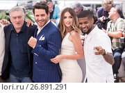 Купить «69th Cannes Film Festival - 'Hands of Stone' - Photocall Featuring: Robert De Niro, Edgar Ramirez, Contestant, Usher Raymond IV Where: Cannes, France When: 16 May 2016 Credit: Euan Cherry/WENN.com», фото № 26891291, снято 16 мая 2016 г. (c) age Fotostock / Фотобанк Лори