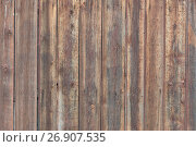 Купить «Background in style a rustic from old rough wooden unpainted boards», фото № 26907535, снято 9 сентября 2017 г. (c) Anatoly Timofeev / Фотобанк Лори