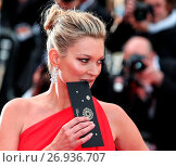Купить «Red carpet arrivals for the screening of 'Loving' during the 69th Cannes Film Festival Featuring: Kate Moss Where: Cannes, France When: 16 May 2016 Credit: WENN.com», фото № 26936707, снято 16 мая 2016 г. (c) age Fotostock / Фотобанк Лори