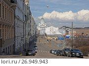 Улица города Хельсинки (2013 год). Редакционное фото, фотограф Сапрыгин Сергей / Фотобанк Лори