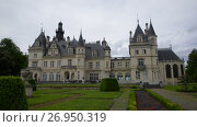 Купить «Montrejeau castle of Valmirande, France», видеоролик № 26950319, снято 4 июня 2017 г. (c) Яков Филимонов / Фотобанк Лори