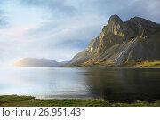 Beautiful Icelandic landscape (2017 год). Стоковое фото, фотограф Алексей Кузнецов / Фотобанк Лори