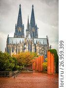Купить «Cologne Cathedral, Germany», фото № 26959399, снято 24 марта 2019 г. (c) Sergey Borisov / Фотобанк Лори
