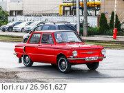 Купить «ZAZ 968 Zaporozhets», фото № 26961627, снято 21 августа 2017 г. (c) Art Konovalov / Фотобанк Лори