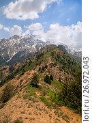 Купить «Chimgan mountains, Uzbekistan», фото № 26972043, снято 7 мая 2014 г. (c) Надежда Болотина / Фотобанк Лори