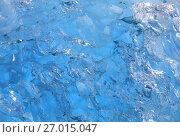 Купить «Ice texture background», фото № 27015047, снято 6 сентября 2017 г. (c) Алексей Кузнецов / Фотобанк Лори
