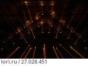 Купить «Концертное освещение на сцене», фото № 27028451, снято 1 апреля 2017 г. (c) Pukhov K / Фотобанк Лори