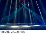 Купить «Концертное освещение на сцене», фото № 27028455, снято 1 апреля 2017 г. (c) Pukhov K / Фотобанк Лори