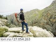 Torrente de Pareis desde Niu des Voltor, Sa Calobra, Escorca, spain, europe. Стоковое фото, фотограф Tolo Balaguer / age Fotostock / Фотобанк Лори