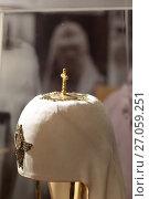 Патриарший клубок на выставке, эксклюзивное фото № 27059251, снято 7 октября 2017 г. (c) Дмитрий Неумоин / Фотобанк Лори