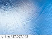 Купить «Узор на замерзшем стекле», фото № 27067143, снято 12 ноября 2016 г. (c) Икан Леонид / Фотобанк Лори