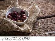 Купить «Marinated olives in bowl», фото № 27069043, снято 12 июня 2017 г. (c) Wavebreak Media / Фотобанк Лори
