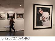 Купить «Выставка Жан-Мари Перье. Кутюрье французской фотографии в галерее Братьев Люмьер», эксклюзивное фото № 27074463, снято 27 сентября 2017 г. (c) Дмитрий Неумоин / Фотобанк Лори