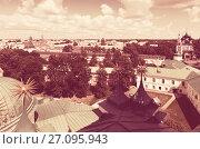 Купить «Top view of old Yaroslavl. Russia», фото № 27095943, снято 28 июля 2012 г. (c) Яков Филимонов / Фотобанк Лори