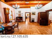 Купить «Museum of Polish Anthem in Bedomin, village in Pomeranian Voivodeship, Poland.», фото № 27105635, снято 21 июля 2019 г. (c) age Fotostock / Фотобанк Лори