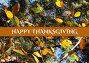 Happy thanksgiving text with leaves on trees, фото № 27108915, снято 19 октября 2017 г. (c) Wavebreak Media / Фотобанк Лори