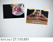 Купить «Breast Cancer Awareness Photo Collage with woman», фото № 27110891, снято 17 июня 2019 г. (c) Wavebreak Media / Фотобанк Лори