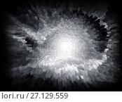 Купить «Abstract background techno graphics», иллюстрация № 27129559 (c) ElenArt / Фотобанк Лори