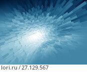 Купить «Abstract background techno graphics», иллюстрация № 27129567 (c) ElenArt / Фотобанк Лори
