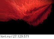 Купить «Abstract background techno graphics», иллюстрация № 27129571 (c) ElenArt / Фотобанк Лори
