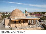 Купить «Nurata, Uzbekistan. Two mosques», фото № 27178827, снято 17 октября 2016 г. (c) Юлия Бабкина / Фотобанк Лори