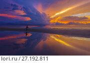 Закаты острова Борнео. Стоковое фото, фотограф Valeriy Ryasnyanskiy / Фотобанк Лори