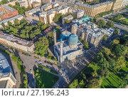 Купить «Соборная мечеть Санкт-Петербурга», фото № 27196243, снято 11 сентября 2017 г. (c) Геннадий Соловьев / Фотобанк Лори