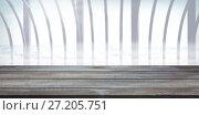 Купить «Composite image of surface of wooden plank», фото № 27205751, снято 20 июля 2018 г. (c) Wavebreak Media / Фотобанк Лори