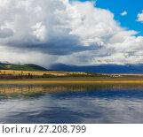 Купить «Altai mountains. Beautiful highland landscape. Russia Siberia», фото № 27208799, снято 20 августа 2017 г. (c) Ильин Сергей / Фотобанк Лори