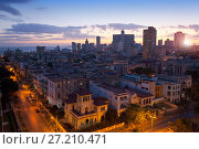 Купить «Cuba. Night Havana.», фото № 27210471, снято 29 января 2013 г. (c) Куликов Константин / Фотобанк Лори