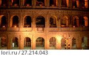 Купить «Colosseum in centre of city of Rome, Italy», видеоролик № 27214043, снято 10 августа 2017 г. (c) BestPhotoStudio / Фотобанк Лори