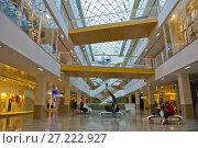 Купить «Prekybos centras GO9, shopping centre, Gedimino gatve, Vilnius, Lithuania.», фото № 27222927, снято 17 июля 2017 г. (c) age Fotostock / Фотобанк Лори