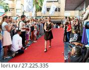 Купить «Russian Film Festival», фото № 27225335, снято 1 июля 2017 г. (c) Alexander Tihonovs / Фотобанк Лори